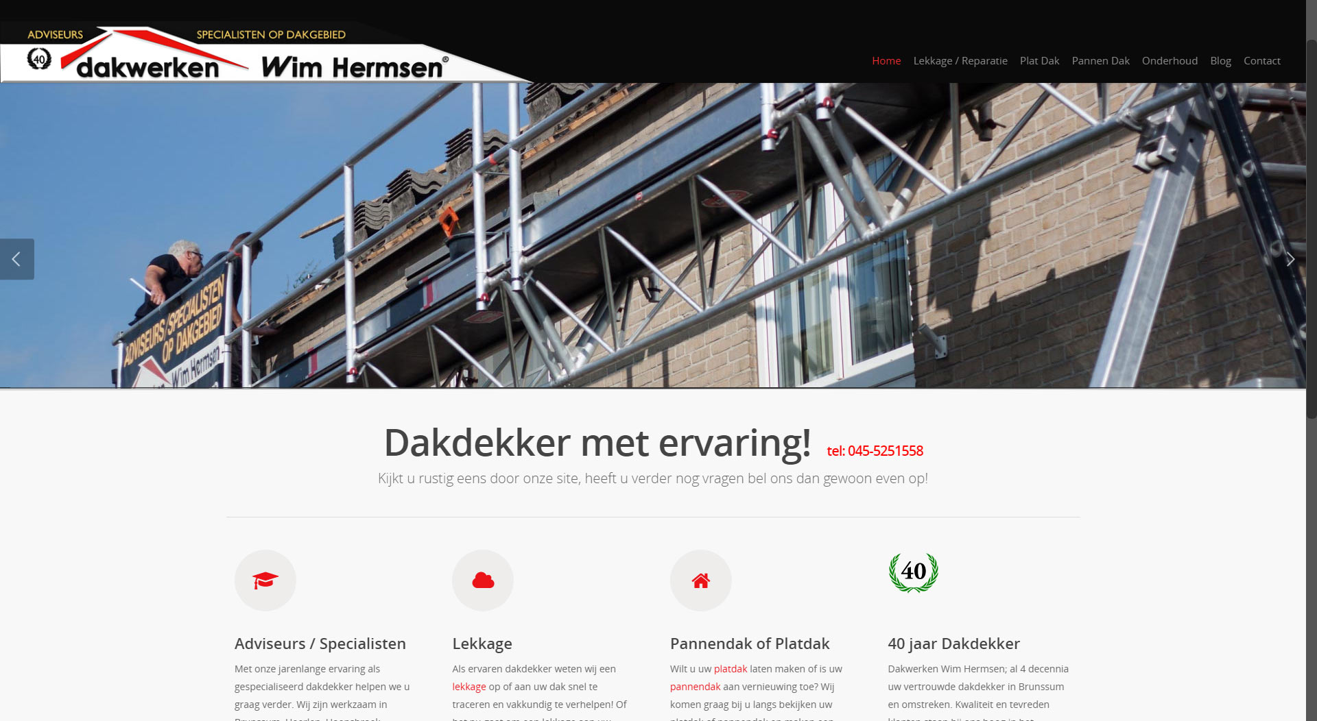 Webdesign WimHermsen.nl – SEO Google local Rank #1